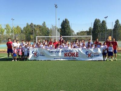 Campus de Fútbol Koke