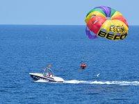 Do parasailing in Ibiza