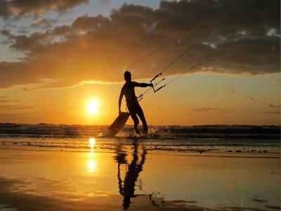 Curso de kitesurf en Almería con fotos 3 horas