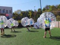 Partido de fútbol bubble en Donosti 1 hora adultos