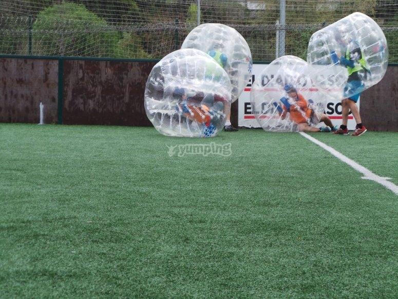 Dentro de las burbujas gigantes