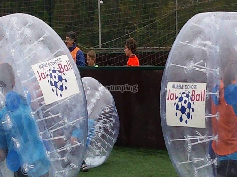 El futbol bubble mas divertido
