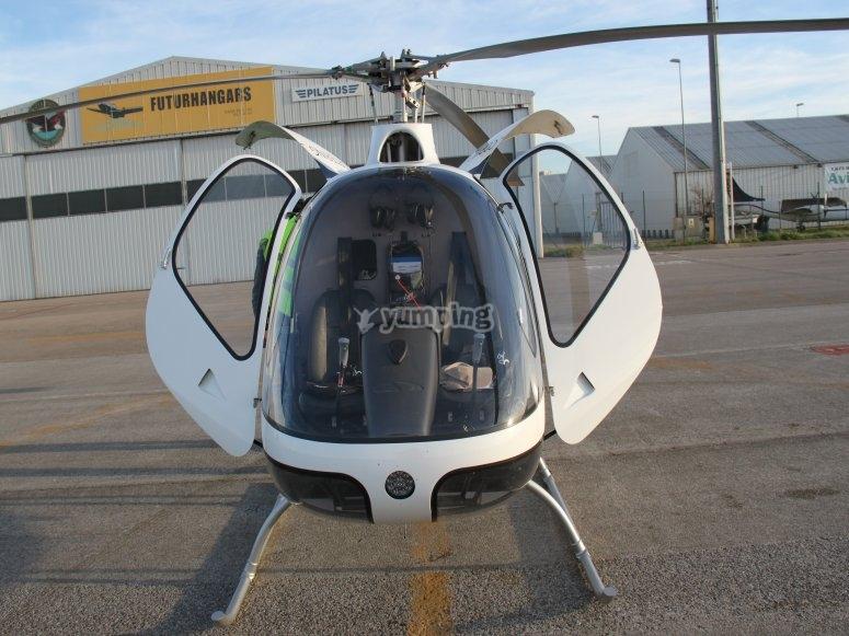 直升机的控制控制