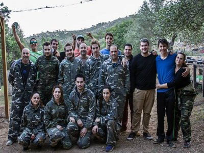 Paintball en Mallorca 100 bolas