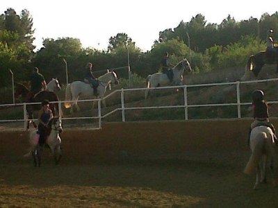Equitazione con convivenza e classe, Sentmenat