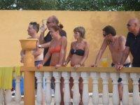 Espectadores en verano