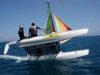 Navega en un catamarán en AFuerteventura
