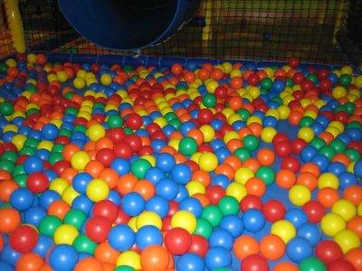Playroom + candy cone, Laguna de Duero