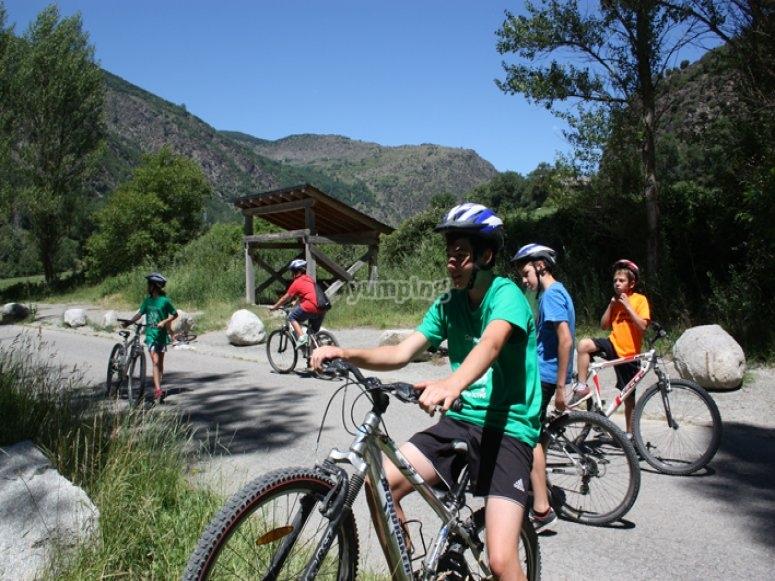 Excursiones en bicicleta