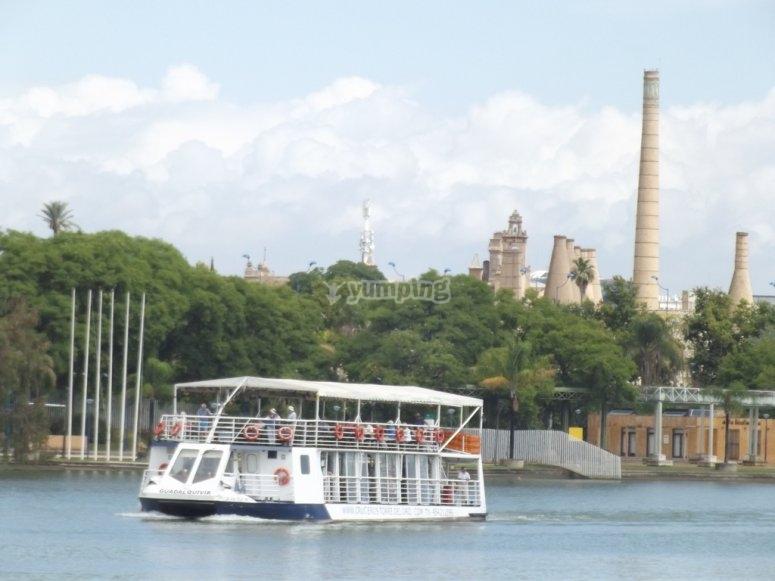 Cruceros en el Guadalquivir