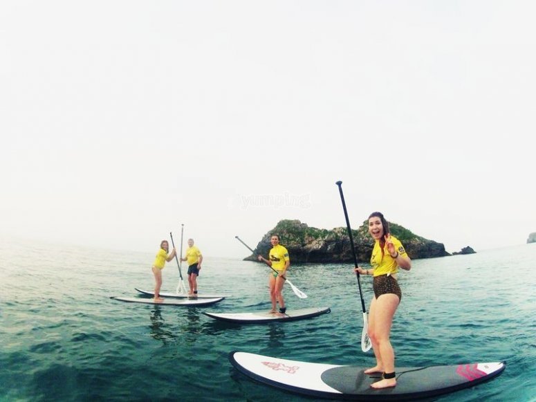 Stand up PADDLE SURF LLANES