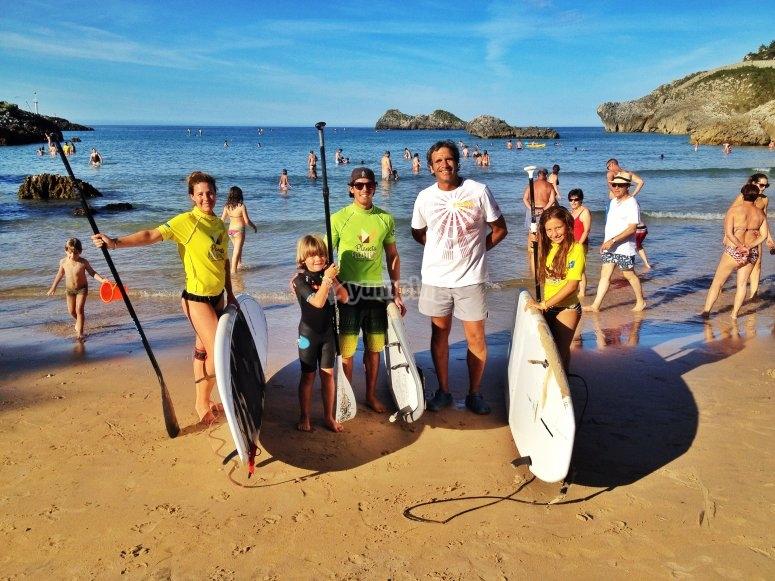 家庭桨冲浪