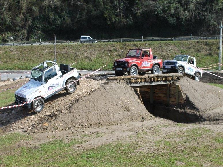 All-terrain vehicle trail