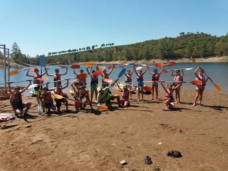 Before doing kayaking