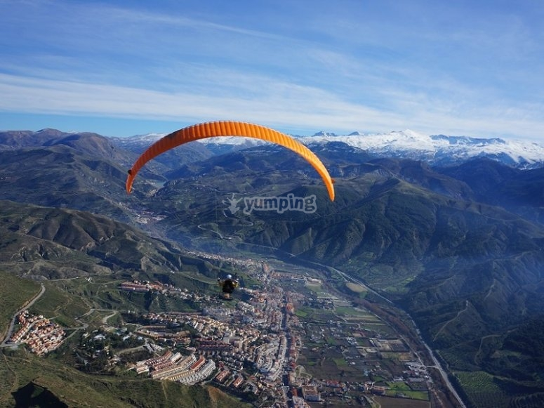 Outstanding paragliding