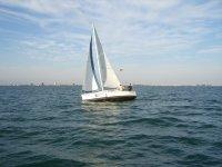 velero de la escola nautica focus