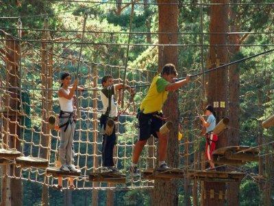 Parque de Aventuras en Cercedilla Circuitos Niños