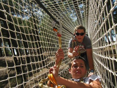Parque multiaventura en Víznar Entrada infantil