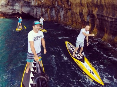 2h stand up paddle surfing tour in Gran Canaria