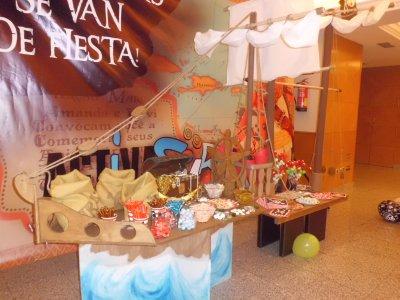 Celebración infantil mesa dulce temática Granada