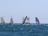 Windsurfing lessons in Costa Brava