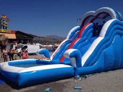 Fiesta acuática para niños en Granada