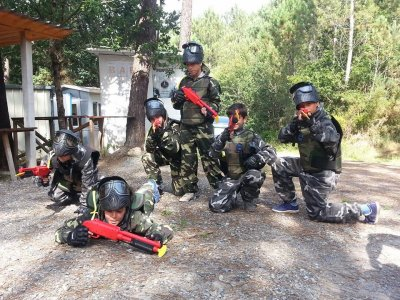 Paintball for children older than 8, Camanzo