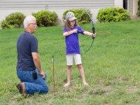 儿童射箭射箭