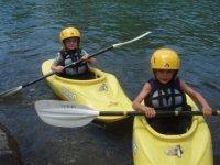 Divertirsi in kayak