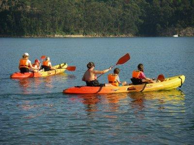 Excursión en kayak Santander 2h + video reportaje