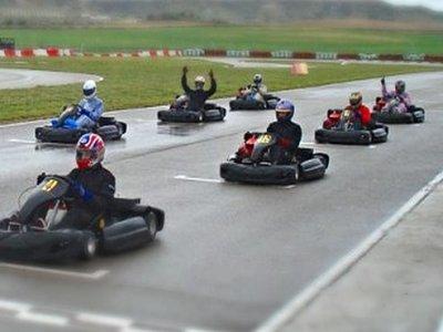Carrera karting en Ocaña a 15 vueltas