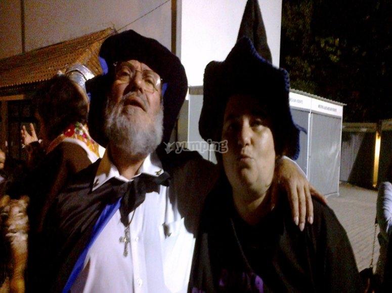Actores para la fiesta