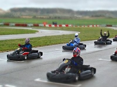 Karting en Ocaña con tanda cronometrada