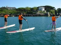 Ruta haciendo Stand Up Paddle