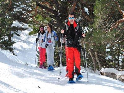 Ruta raquetas de nieve Navacerrada Día del Padre