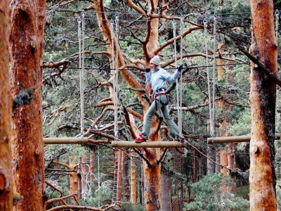 Multi Adventure Park for Adults in Cercedilla