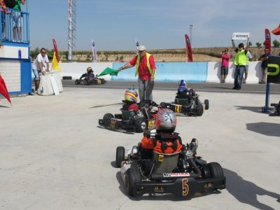 Go-karting initiation course in Madrid 5 days