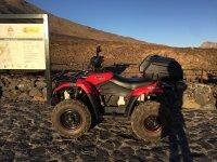 Quad en el Parque Nacional del Teide