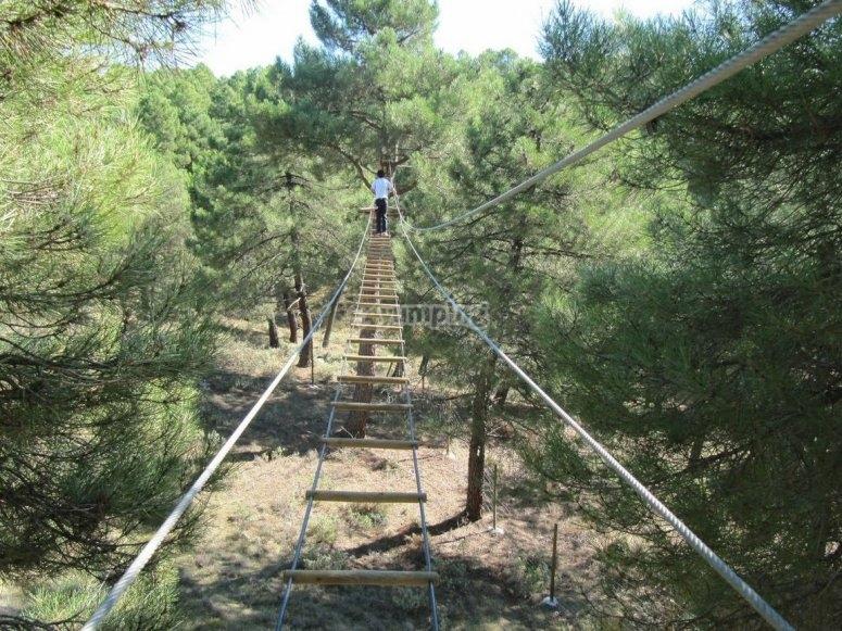 Escalera horizontal