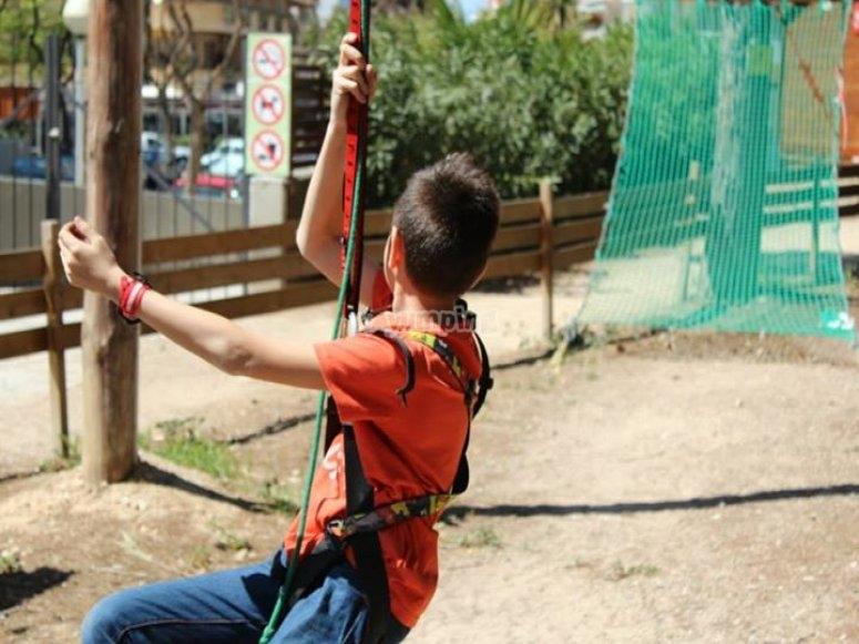 Zip line for kids