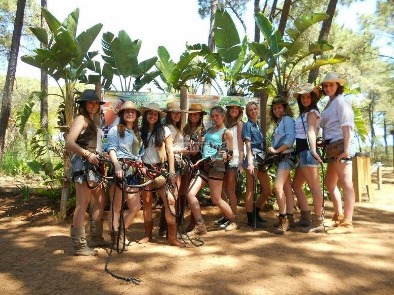 Aventureras en Amazonia
