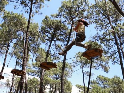 Kid adventure circuit Marbella high season