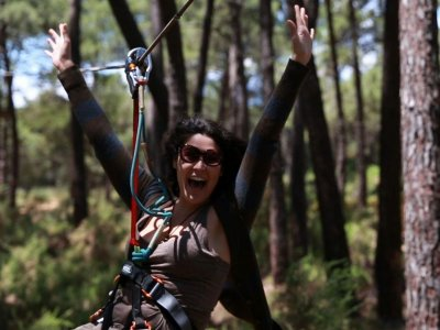Adventure Park for Adults in Marbella - 3 Hours