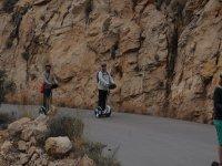 Descendiendo en segway desde el Mirador de La Cruz