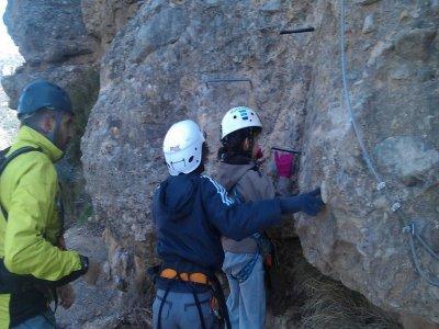Vía Ferrata en Huesca para colegios