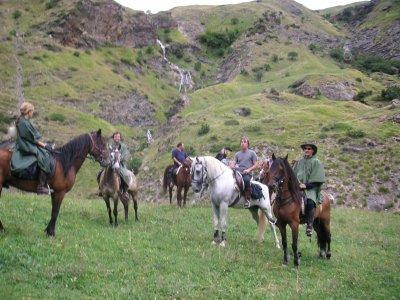 Paseo a caballo en Cánoves 2 horas en Semana Santa