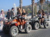 Conoce el paseo marítimo de Albir en quad