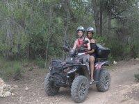 Tour guiado en quad hacia el Mirador de La Cruz