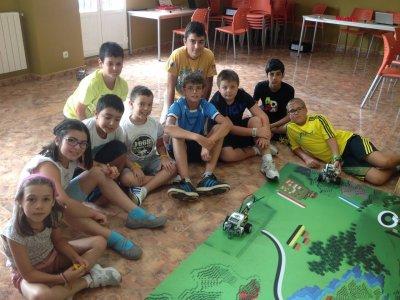 Campamento Verano Robótica Melgar Burgos