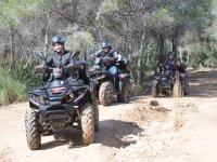 Ruta en quad por senderos naturales de Benidorm
